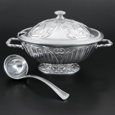 "Lenox ""Butler's Pantry"" Soup Tureen with Ladle"