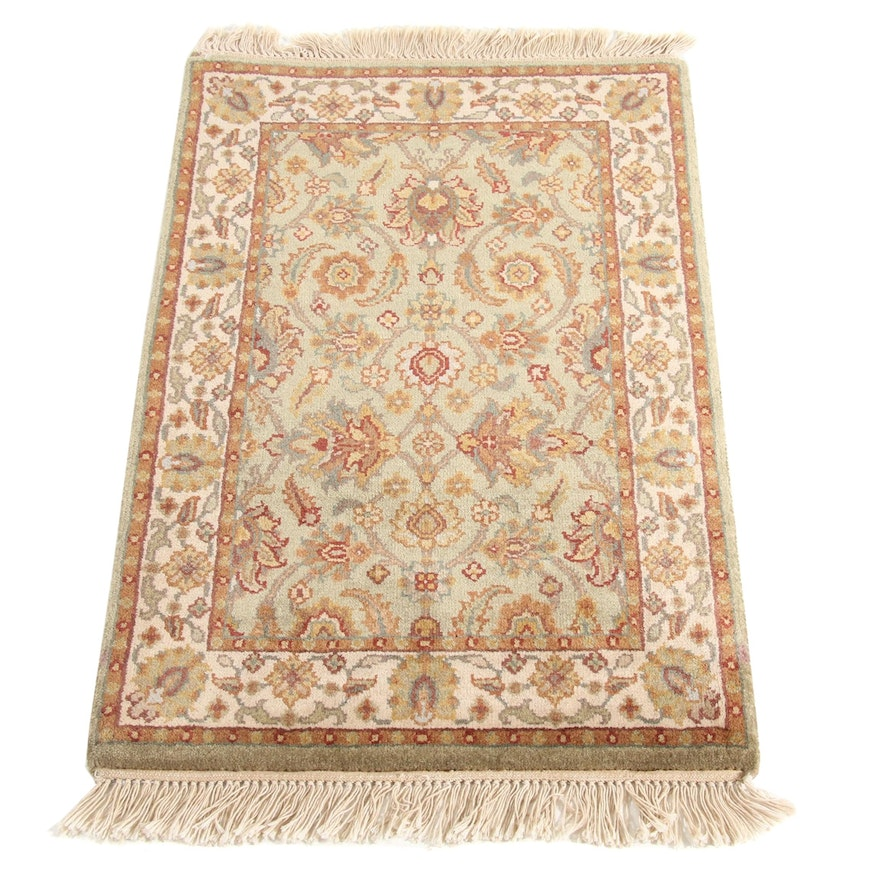 2' x 3'6 Hand-Knotted Indo Persian Tabriz Rug, 2000s