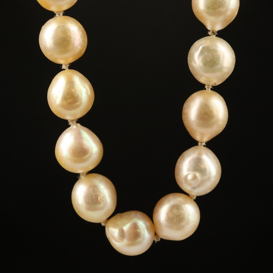 Endless Strand of Knotted Pearls