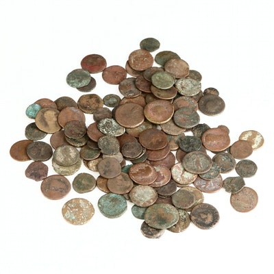 Assortment of Ancient Roman Imperial Bronze Coins