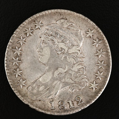 1812 Capped Bust Silver Half Dollar