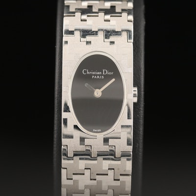 Christian Dior Stainless Steel Quartz Wristwatch
