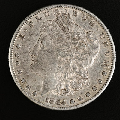 1884-S Morgan Silver Dollar