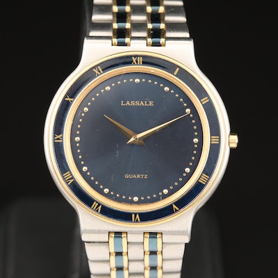 Lassale Two Tone Quartz Wristwatch