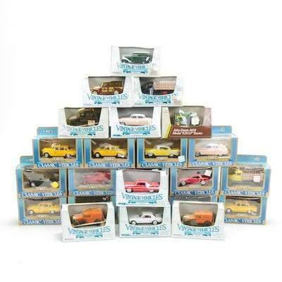 Twenty-Four Ertl Diecast Classic and Vintage Vehicles