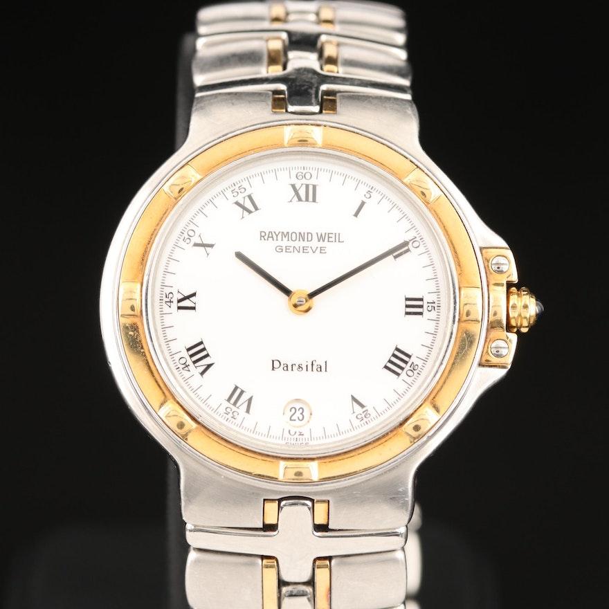 Raymond Weil Parsifal Two Tone Stainless Steel Quartz Wristwatch