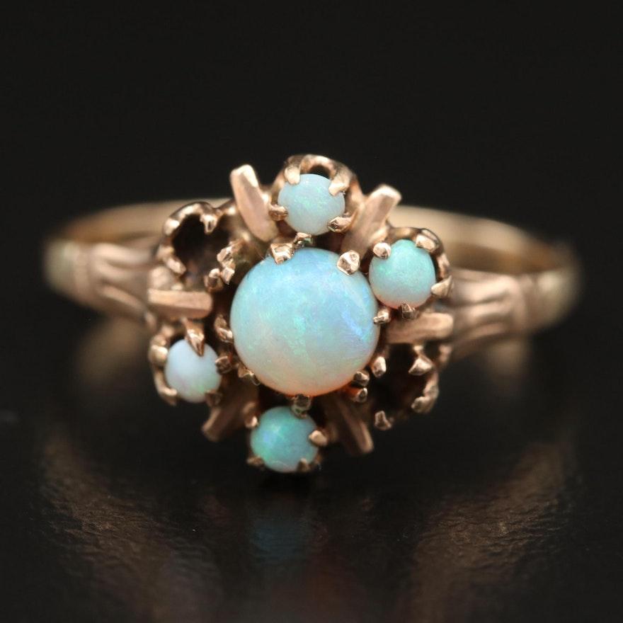 Vintage 10K Opal Ring