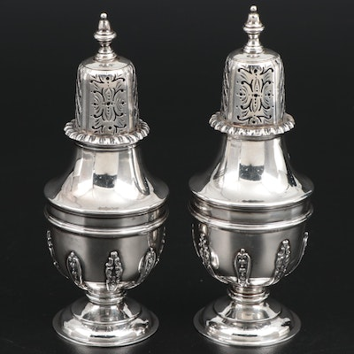 Sibray, Hall & Co. of London Sterling Silver Shakers, 1899
