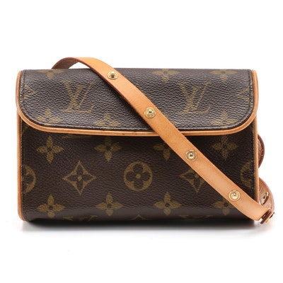 Louis Vuitton Florentine Pochette Belt Bag in Monogram Canvas