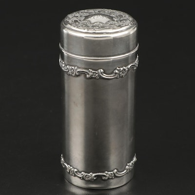 Tiffany & Co. Sterling Silver Powder Shaker, 1898–1902