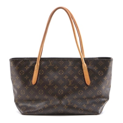 Louis Vuitton Raspail PM in Monogram Canvas and Vachetta Leather