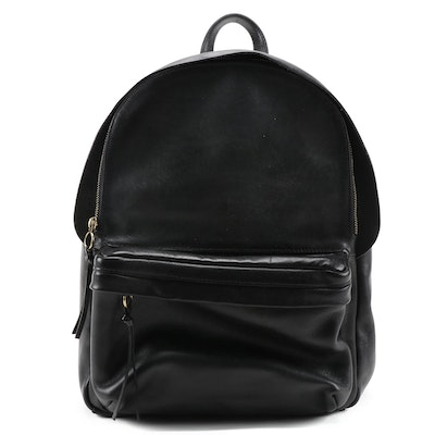 Madewell Lorimer Backpack in Black Leather