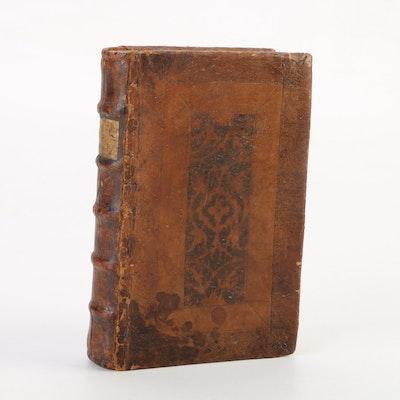 """""""Sermones Aurei"""" with """"Sermones Quadragesimales"""" by Jacobus de Voragine, 1533"""