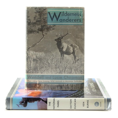 "Ken Burns Signed First Edition ""The National Parks"", with ""Wilderness Wanderers"""