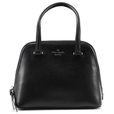 Kate Spade New York Patterson Drive Embossed Leather Small Dome Two-Way Satchel