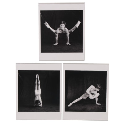 Paul Esposito Digital Photographs of Yoga Poses, 2005