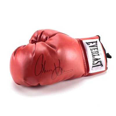 Thomas Hearns Signed Everlast Boxing Glove, with Beckett COA