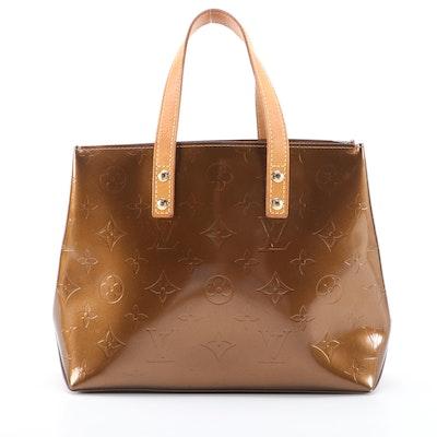 Louis Vuitton Reade PM Bag in Bronze Monogram Vernis