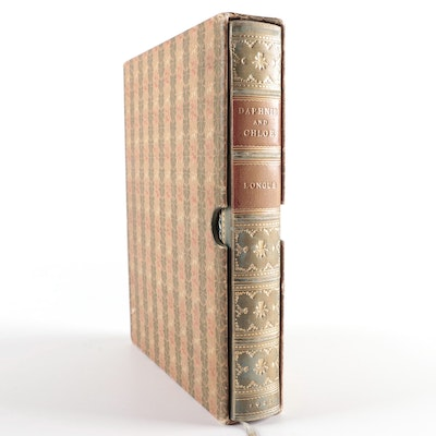 "Leather Bound ""Daphnis and Chloe"" with Slipcase, 1925"