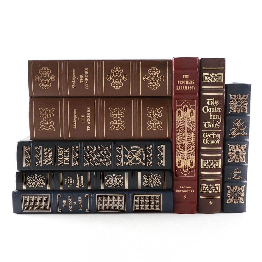 Easton Press Leather Bound Collector's and Library of the Presidents Editions