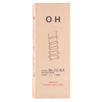 """""""OH-J12-BLK"""" Wall Shelf in Unopened Box"""