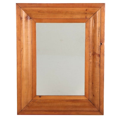 Decorative Wooden Framed Mirror, 20th Century