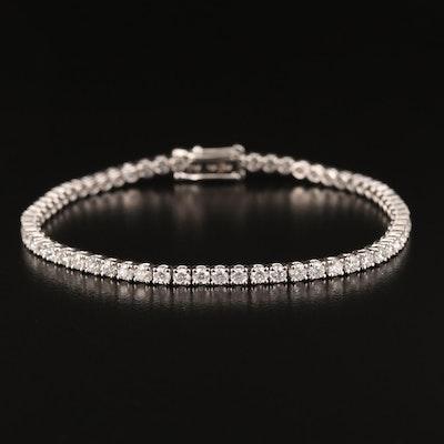 18K 3.30 CTW Diamond Line Bracelet