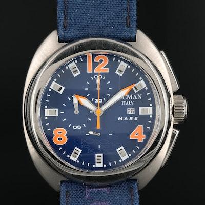 Locman Mare Chronograph Titanium Quartz Wristwatch
