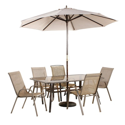 "Backyard Creations ""Larissa Collection"" Patio Dining Set"