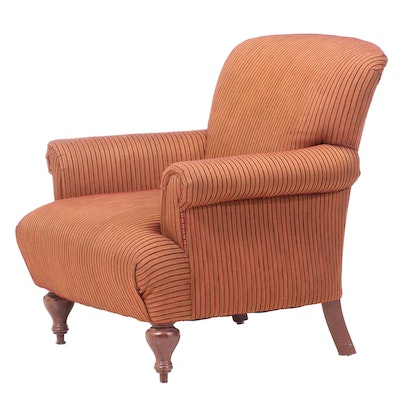 Contemporary Upholstered Easy Armchair