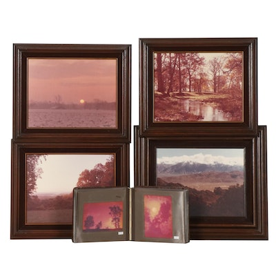 Mark Romesser Framed Photographs and Album of Photographs, Late 20th Century
