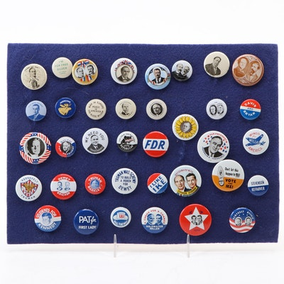 1972 AMOCO Reproduction United States Presidential Campaign Button Collection