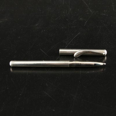 Elsa Peretti for Tiffany & Co. Sterling Silver Ballpoint Pen