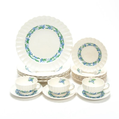 "Copeland Spode ""Valencia Blue Green"" Earthenware Dinnerware"