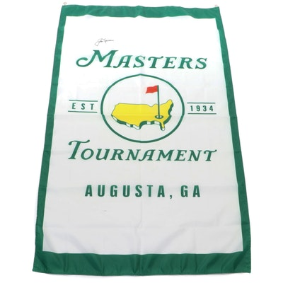 Jack Nicklaus Signed Masters Banner