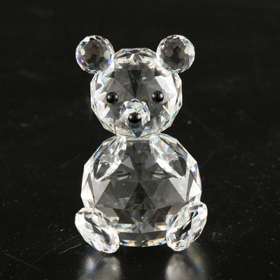 Swarovski Crystal Teddy Bear Figurine