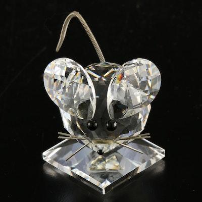 Swarovski Crystal Mouse Figurine