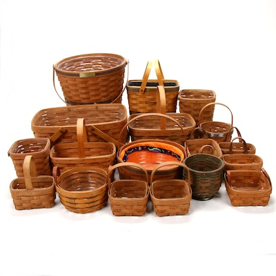 Longaberger Collector's Club and Special Edition Woven Wood Baskets