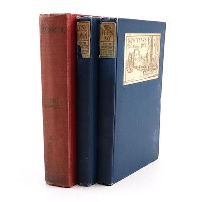 "First Edition Edith Wharton Books Including ""Summer"", ""False Dawn"" and More"