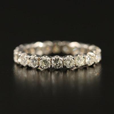 18K 1.31 CTW Diamond Eternity Band