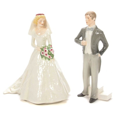 "Goebel ""Forever and Always"" and ""The Promise"" Porcelain Figurines"
