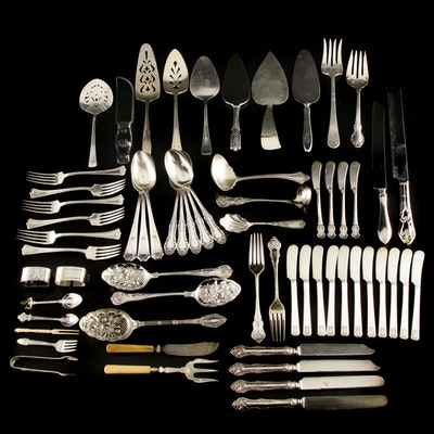 Nobility Plate, Rogers and Other Silver Plate Flatware and Serving Utensils