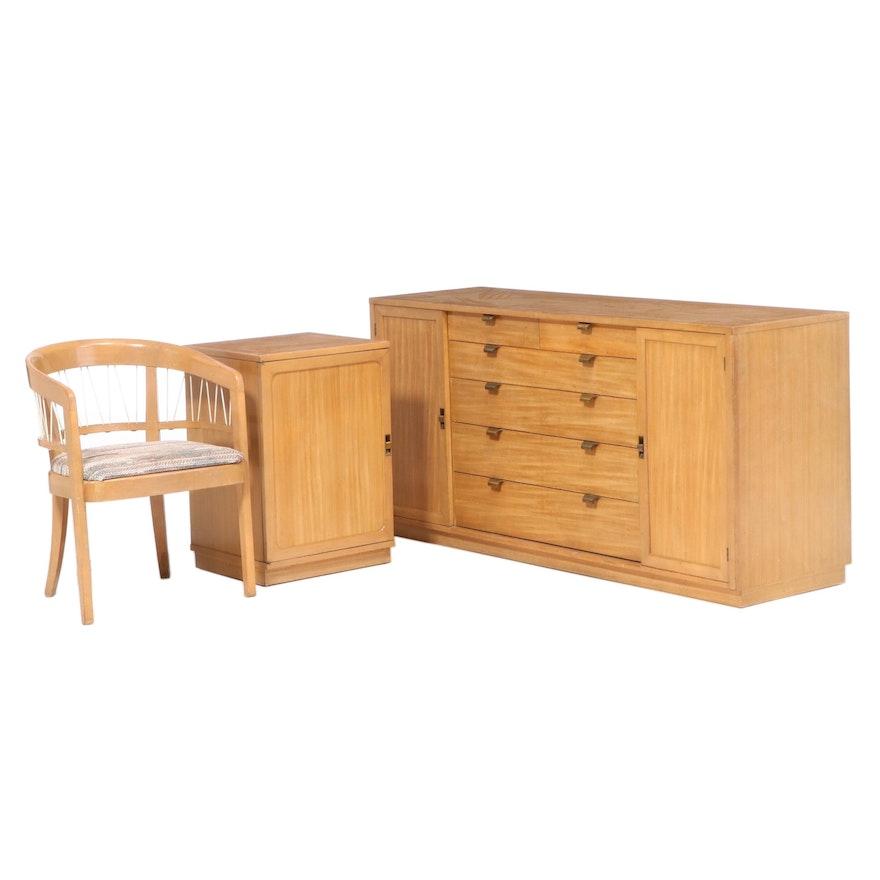 "Edward Wormley for Drexel ""Precedent"" Mid Century Modern Bedroom Furniture"