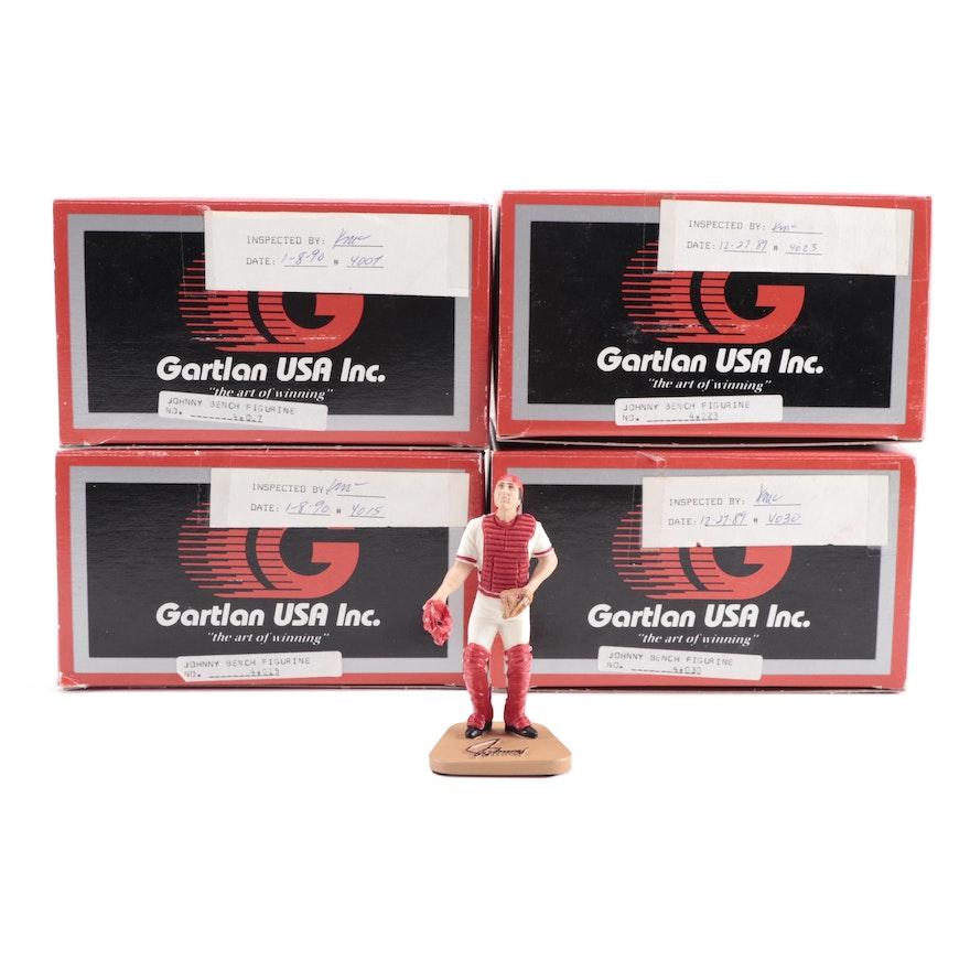 Johnny Bench Cincinnati Reds Gartlan Figurines with Original Packaging, 1989