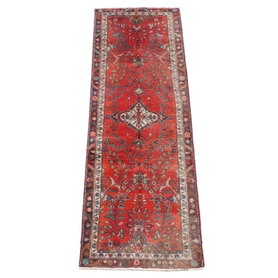 3'0 x 9'6 Hand-Knotted Persian Lilihan Wool Carpet Runner