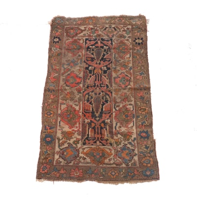 3'3 x 5'11 Hand-Knotted Persian Wool Rug