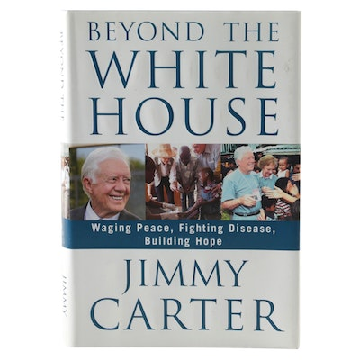 "Jimmy Carter Signed ""Beyond the White House"", with Visual COA"
