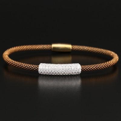 Sterling Cubic Zirconia Bracelet