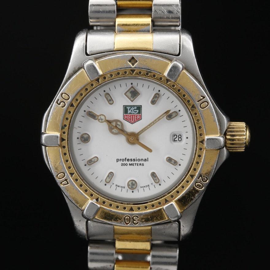 TAG Heuer 200 Meters Stainless Steel Quartz Wristwatch