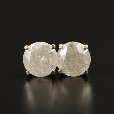14K 1.68 CTW Diamond Stud Earrings